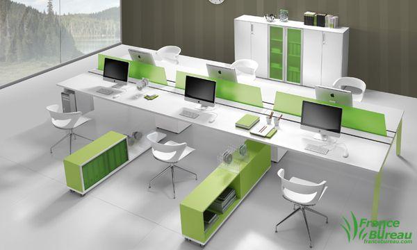 mobilier de bureau modulaire polaris votre univers haut en couleur vive la vie au bureau. Black Bedroom Furniture Sets. Home Design Ideas